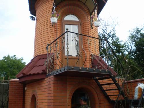 Кованые балконы, решетки